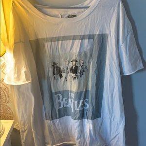 beatles graphic tee